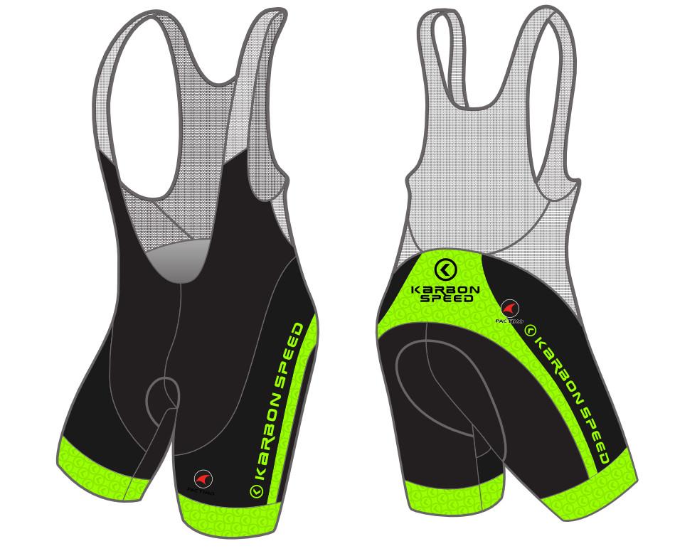 KarbonSpeed Team Bib Shorts