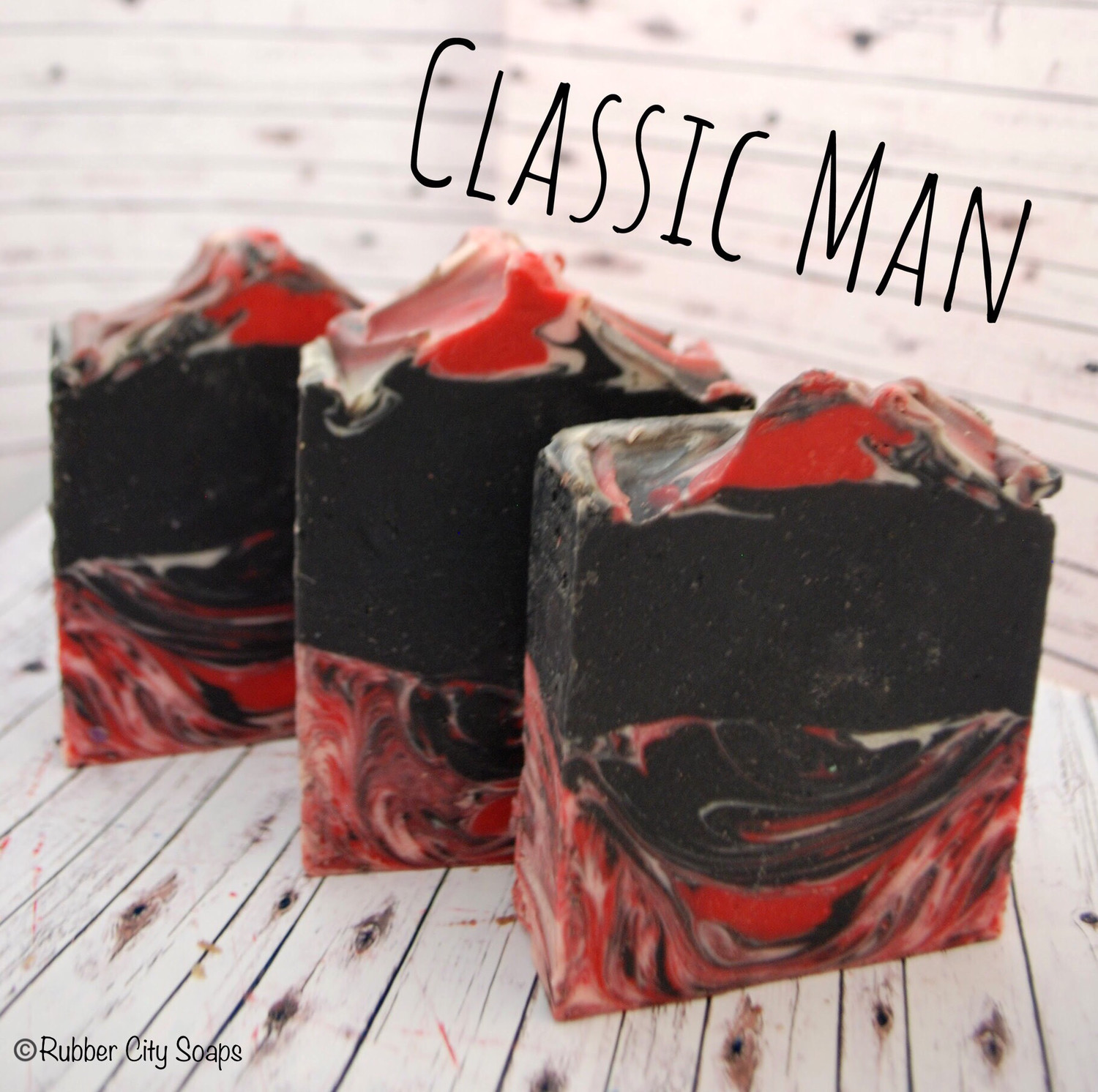 Classic Man Handmade Cold Process Soap