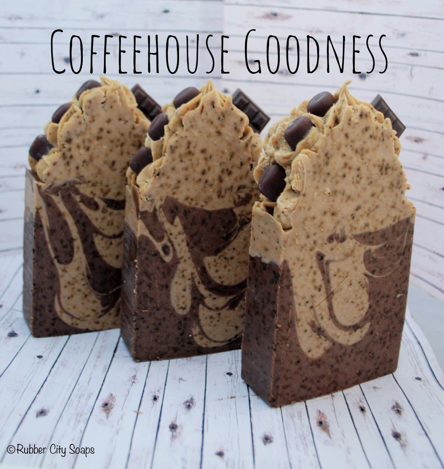 Coffee House Goodness Handmade Cold Process Soap