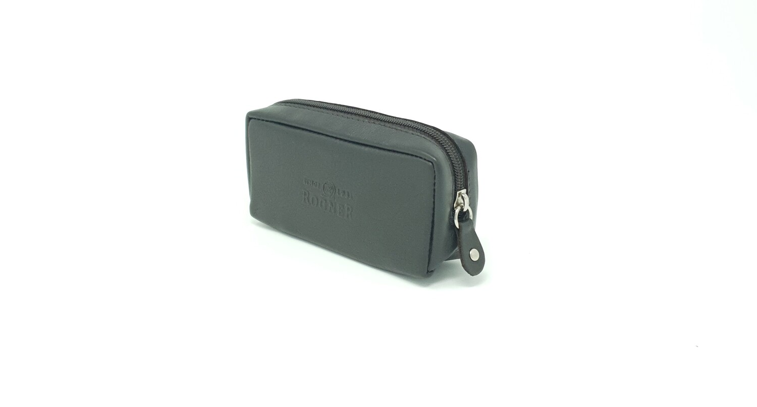 Key case with two zipper