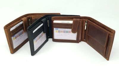 Men's Wallet calf leather
