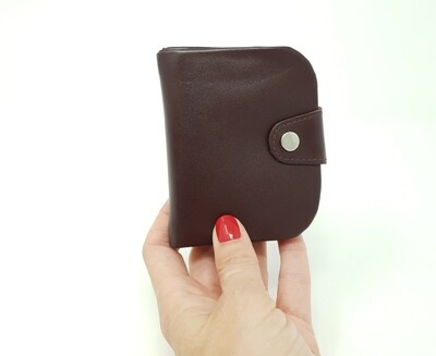 Traditional austrian leather wallet