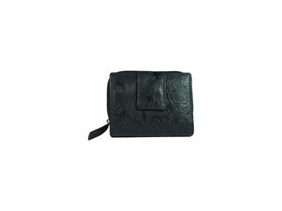 Women's purse, flower print, S-size