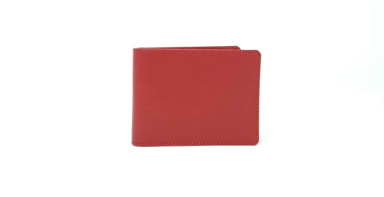 Men's wallet, saffiano leather