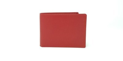 Men's wallet saffiano leather with coins case