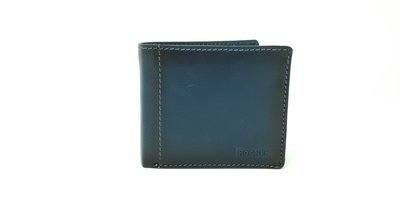 Men's wallet with inside loop, jeans leather