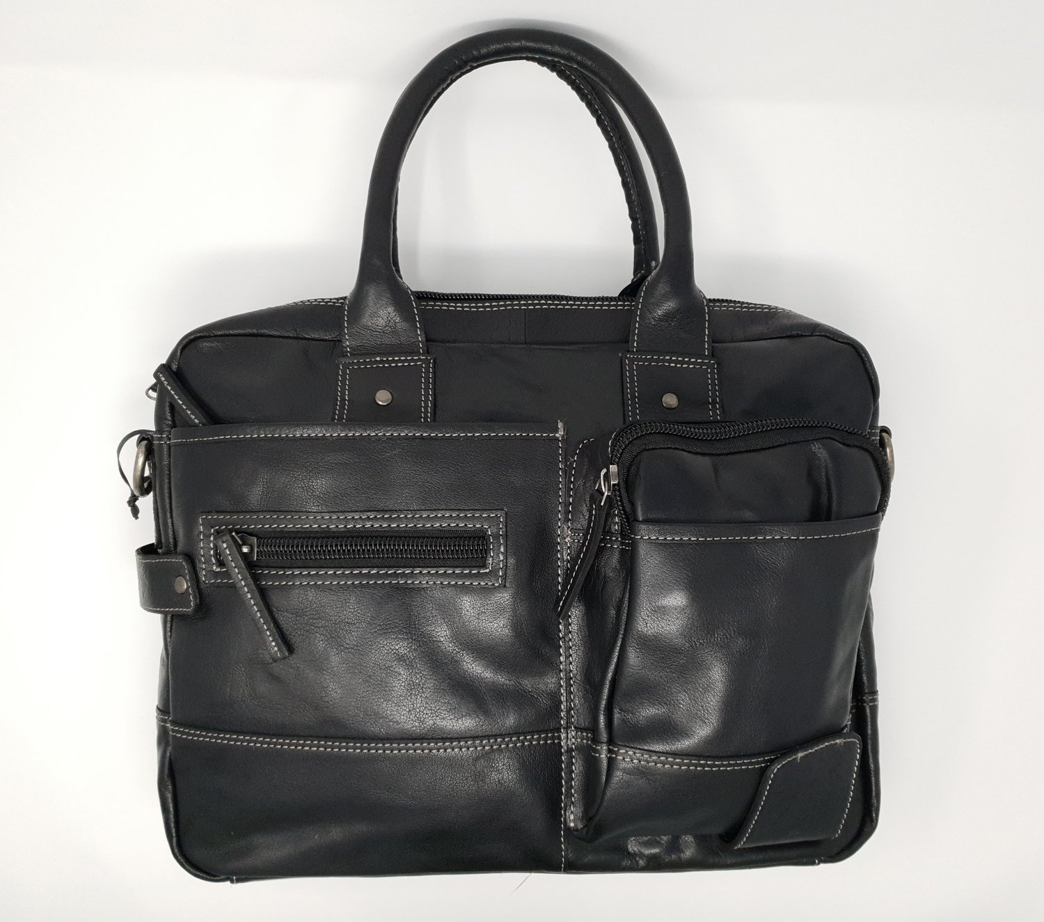 Business bag for men, black