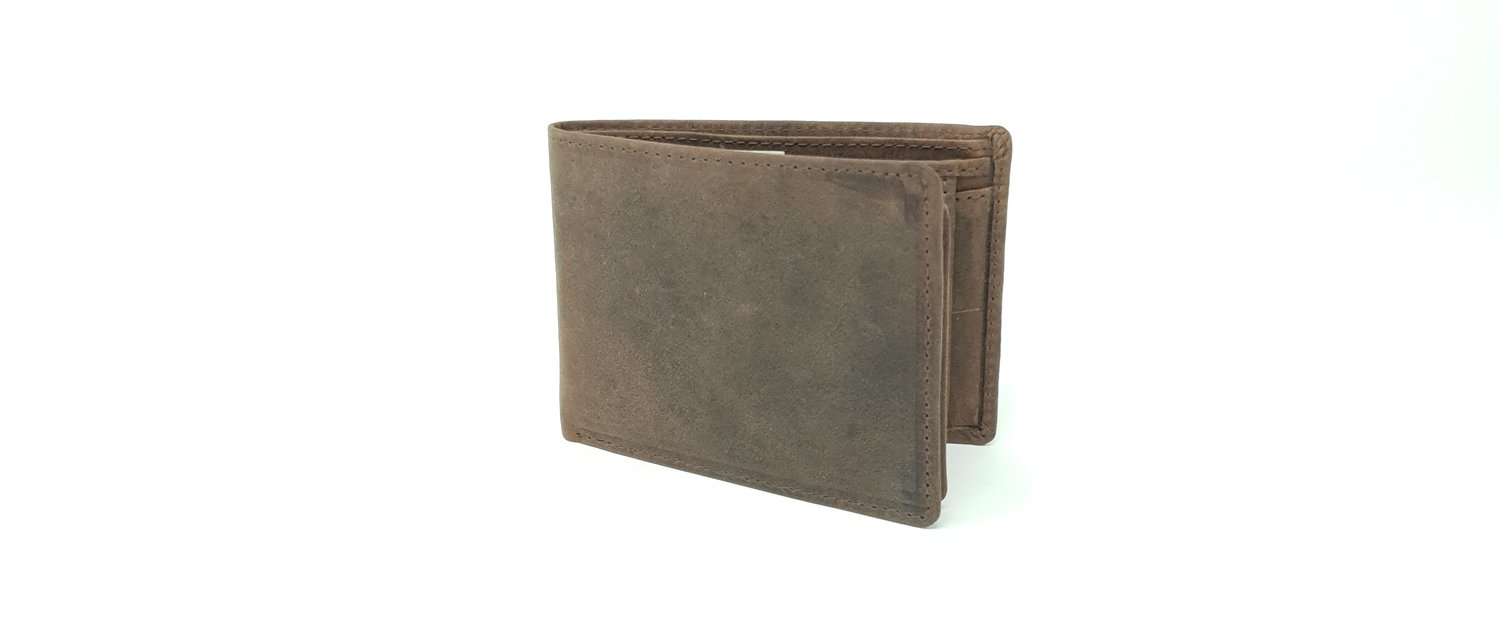 Men's wallet, hunter leather, small