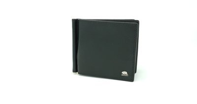 Men's classic wallet, Brown Bear line with money clip