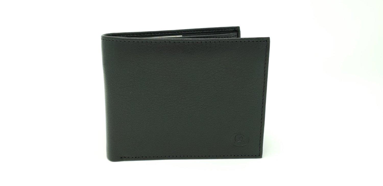 Men's wallet, soft, 11 compartments