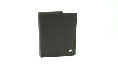 Men's wallet with inside loop, Brown Bear line