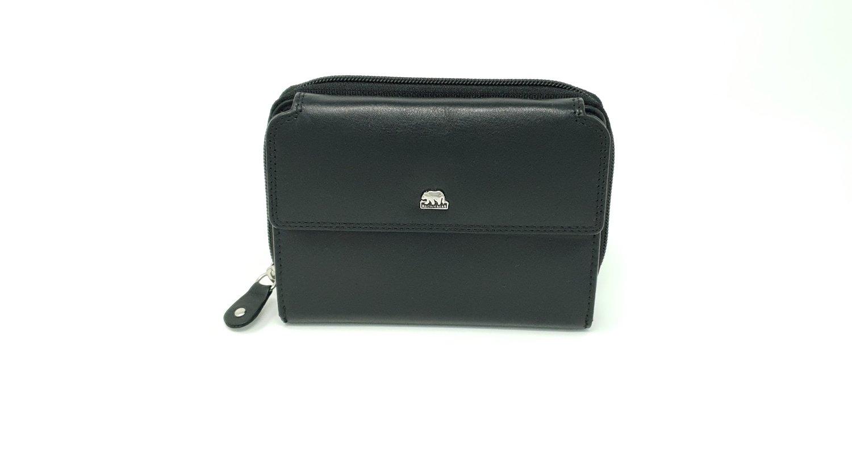 Women's purse zip and loop, Brown Bear line, M-size