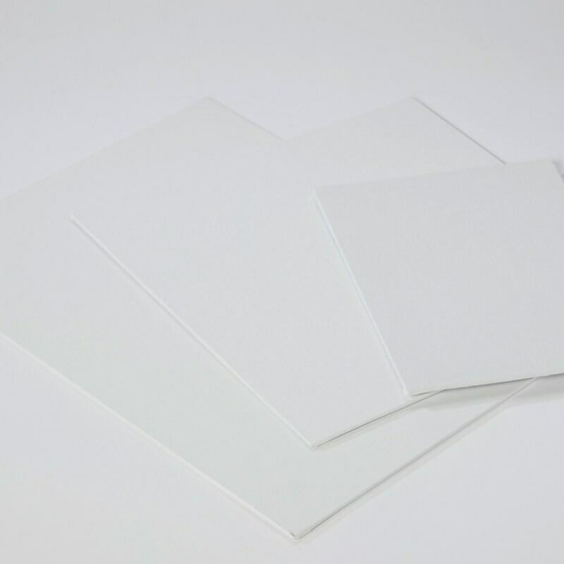 Cartons entoilés 30x30cm