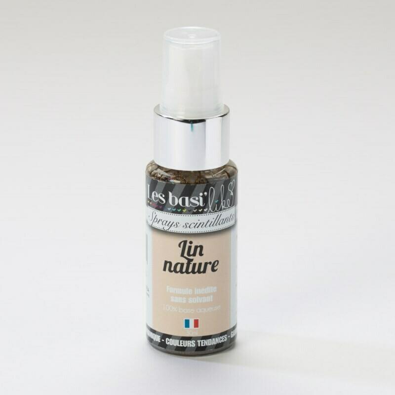 Encres en sprays - couleur Lin nature