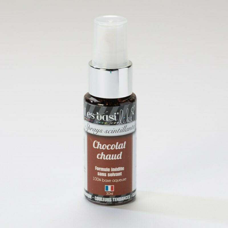 Encres en sprays - couleur Chocolat chaud