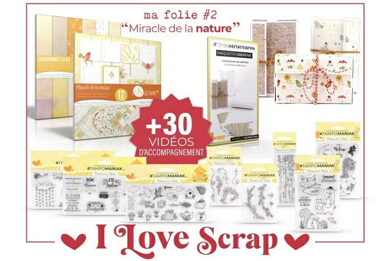 Kit I love Scrap Comme la nature est belle