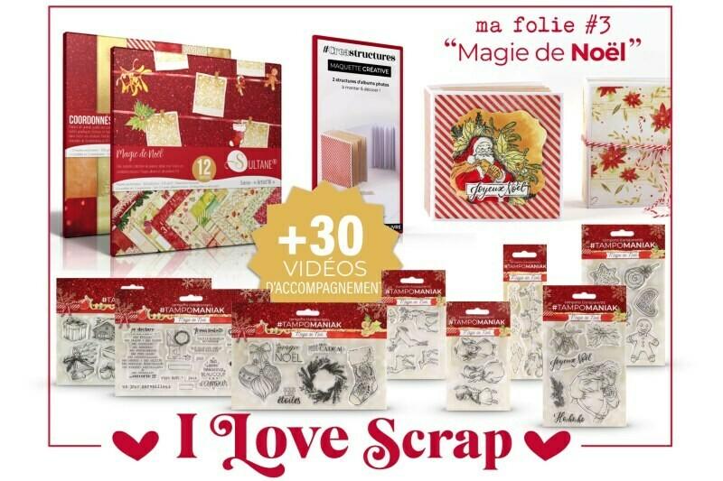Kit I love Scrap Magie de Noel