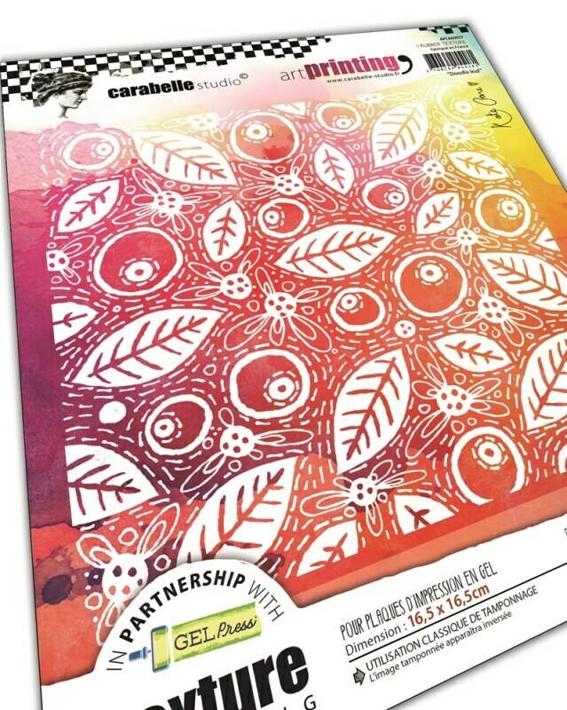 Art Printing Carré : Doodle leaf by Kate Crane