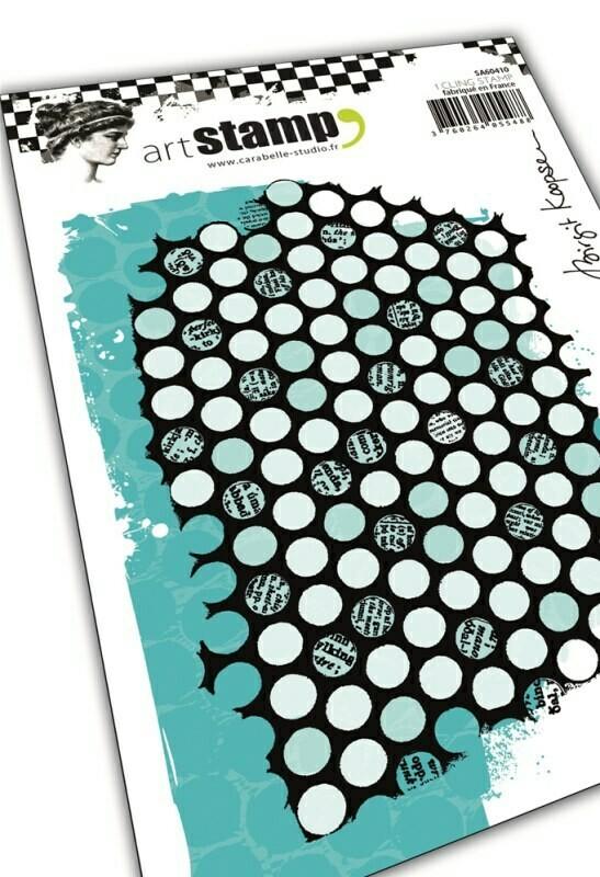 Set de tampons cling A6 : Punchanella #2 by Birgit Koopsen - 10x15cm