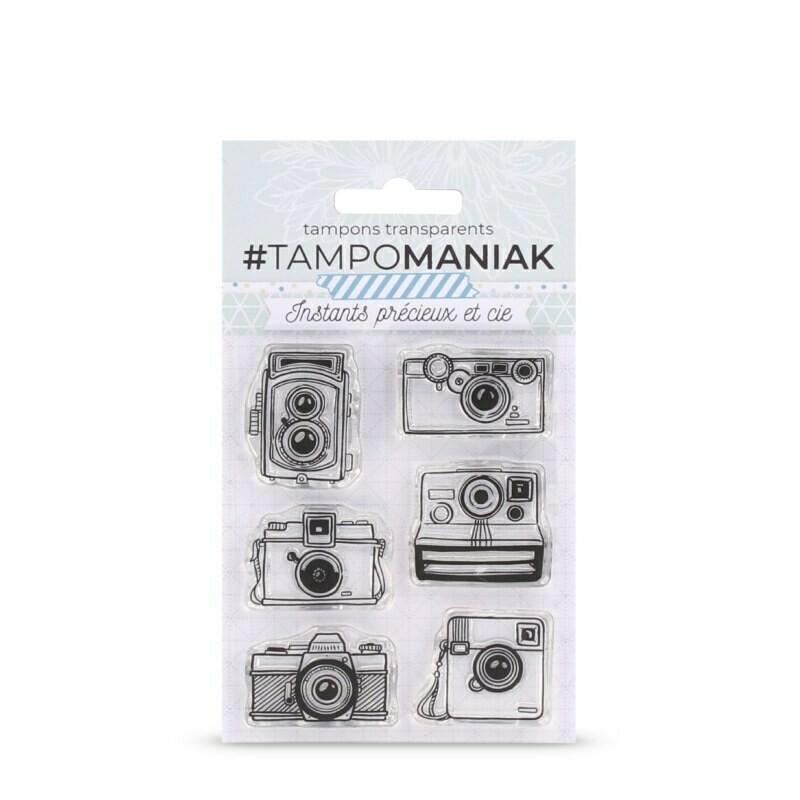 Set de tampons clear Photographe collectionneur - 10x8cm