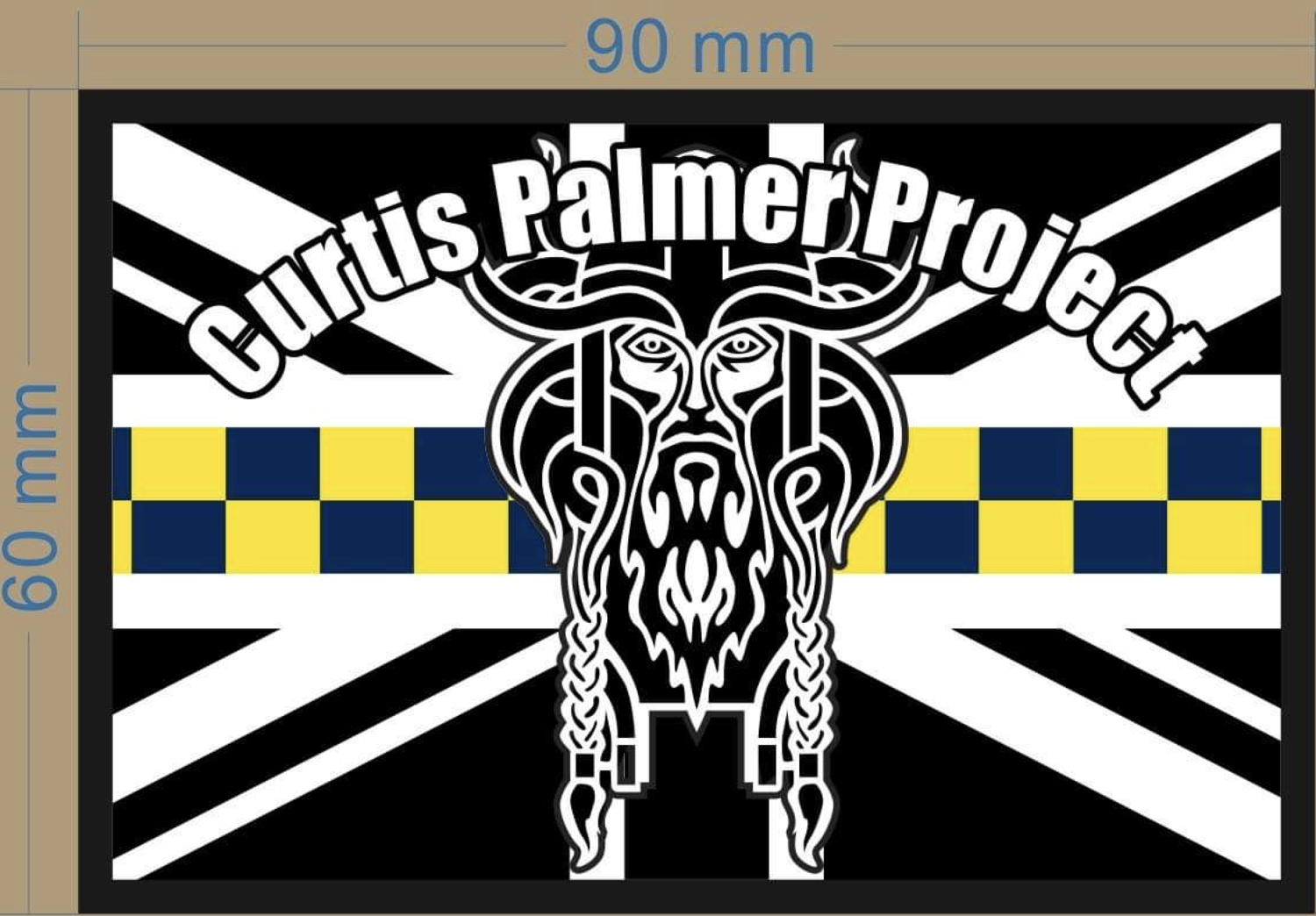 Curtis Palmer Support patch
