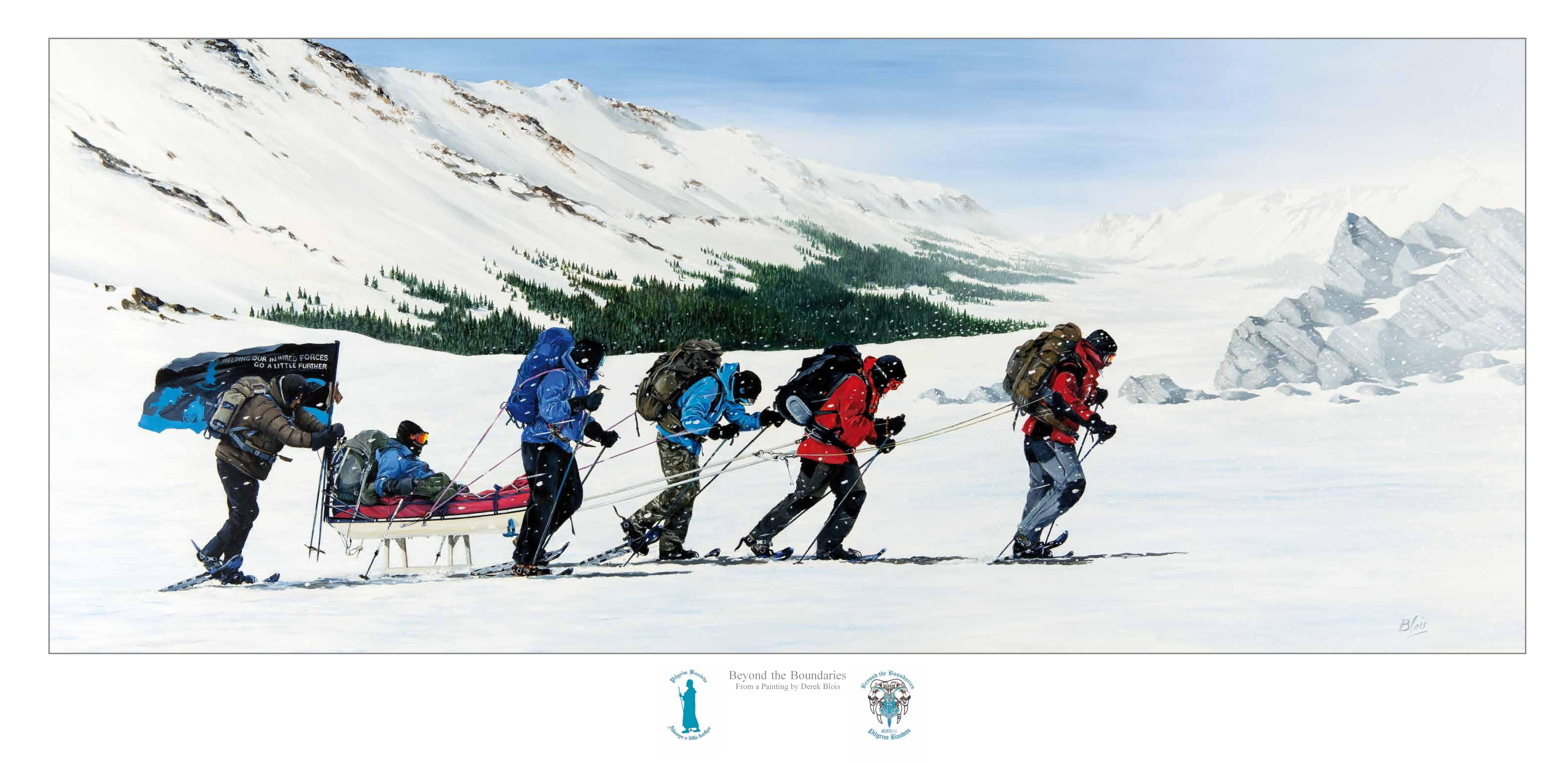 Telemark Expedition Limited Print