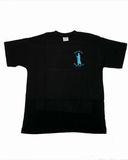 Cotton T-Shirt Black ( Pilgrim logo back)