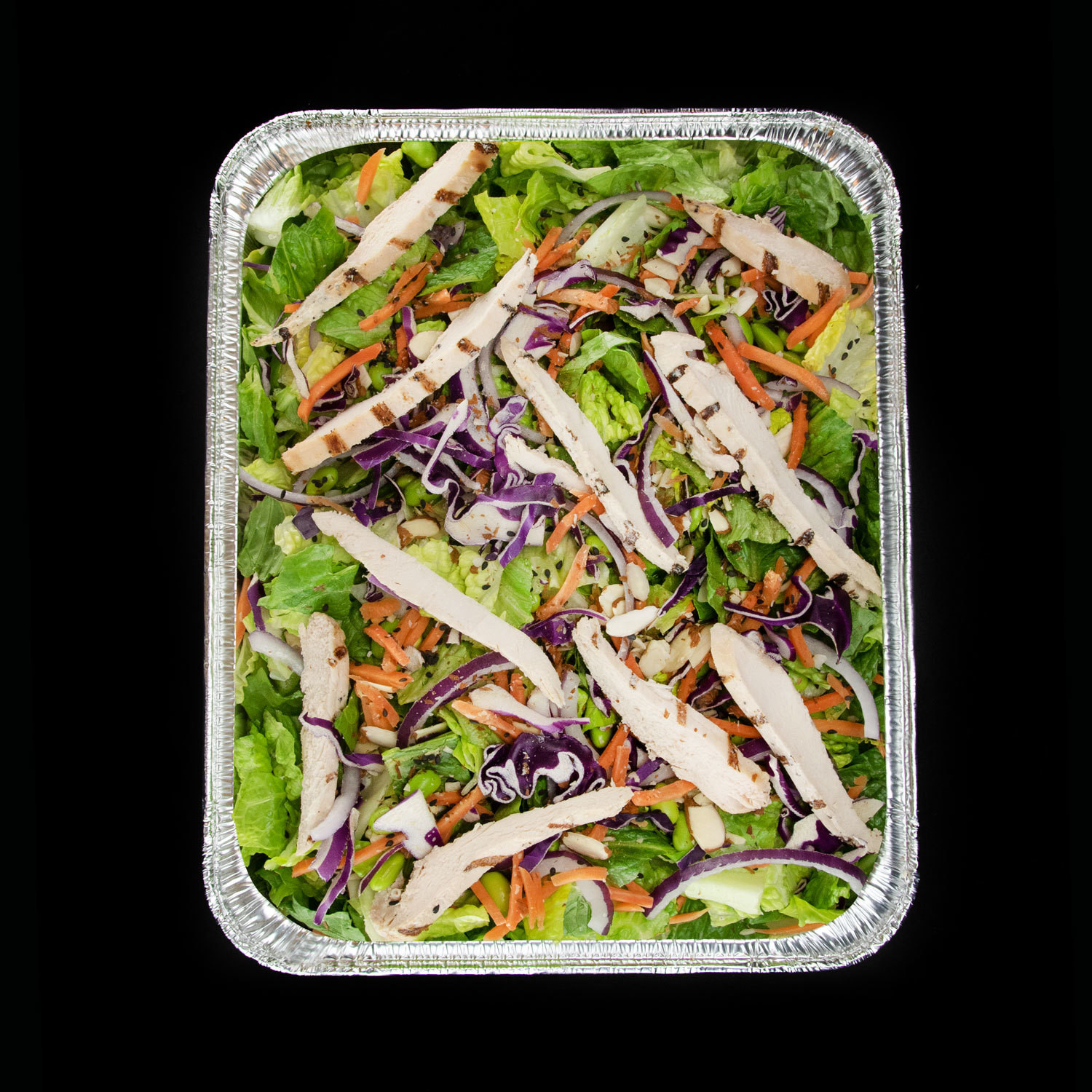 Thai Chicken Crunch Salad Pan