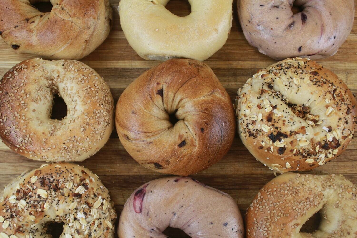 Full Size Bagels