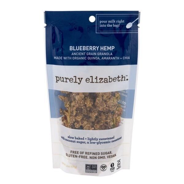 Blueberry Hemp Mini Granola