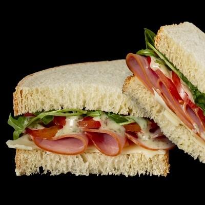 Ham & Swiss Whole Sandwich