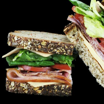 Turkey, Ham & Brie Whole Sandwich