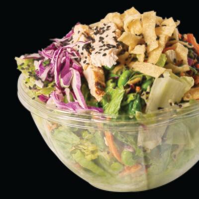Asian Sesame Chicken Full Salad