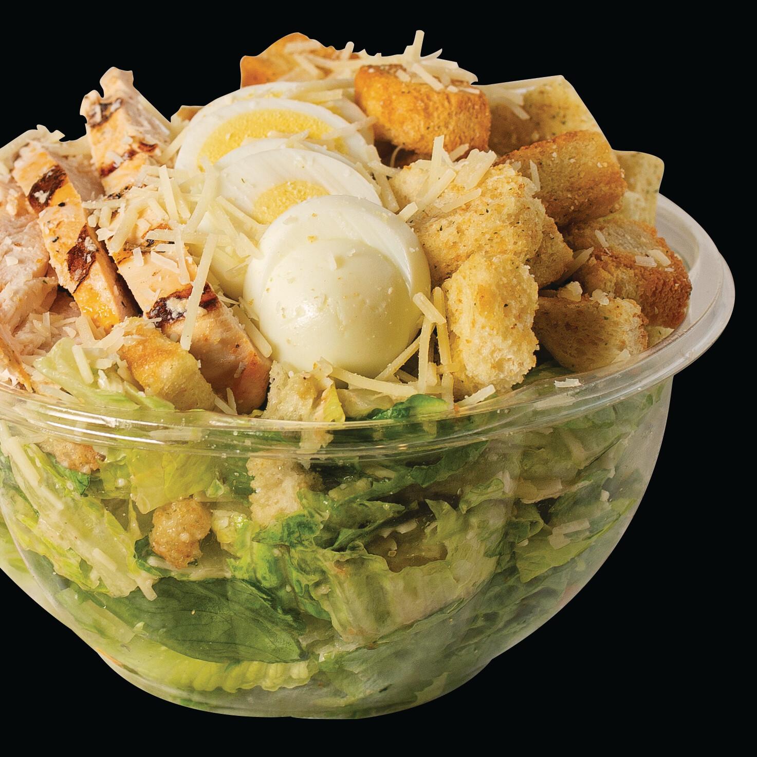 Classic Caesar Chicken Full Salad