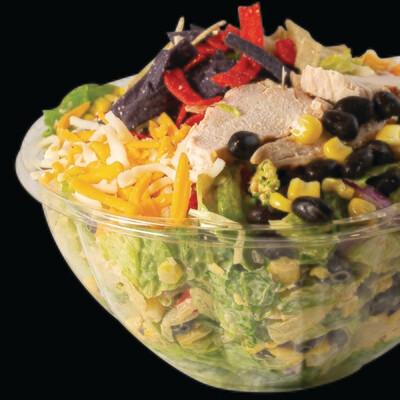 Fiesta Chicken Full Salad