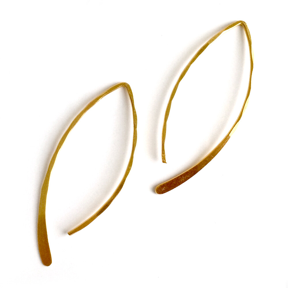 Vermeil Drops of Love Earrings