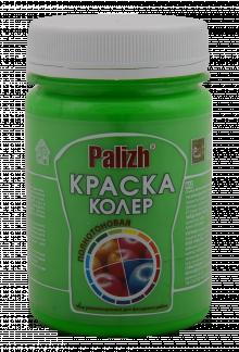 """Краска-колер акриловая """"Palizh"""" (Зеленый флуоресцентный)"""
