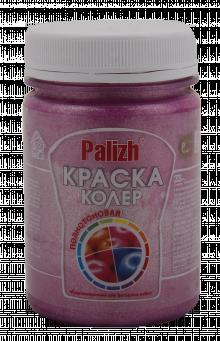 """Краска-колер акриловая """"Palizh"""" (Розовый металлик)"""