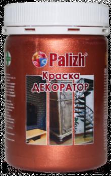 "Краска-колер акриловая ""Palizh"" (Медь металлик)"