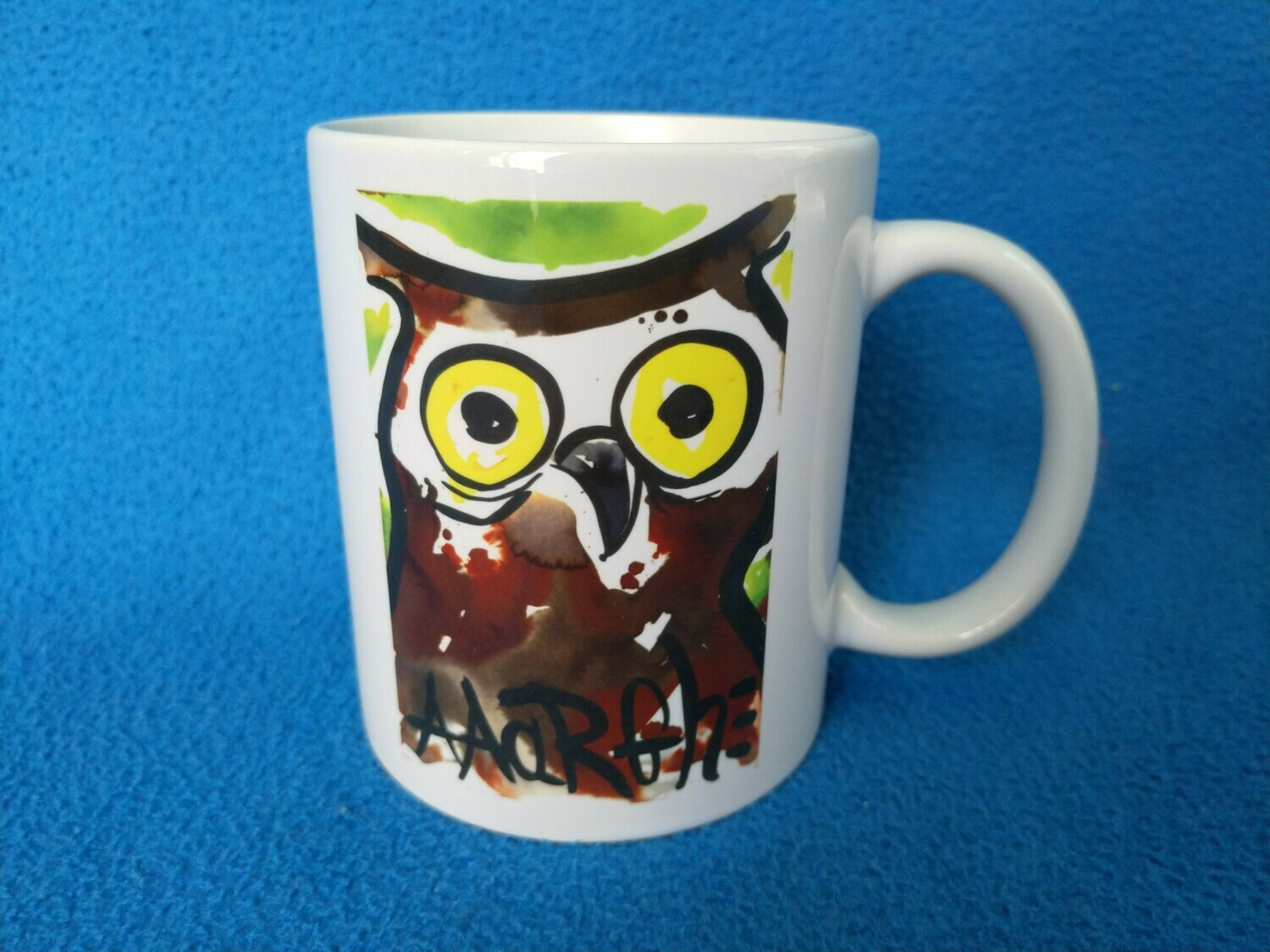 Owly shit! - AAaRGh Art Collectie