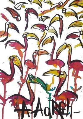 Flamingo à gogo