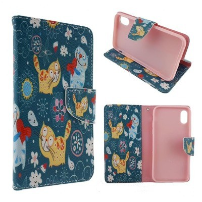 Cute Leather Case - iPhone Xs Max (with Credit Card Slot)