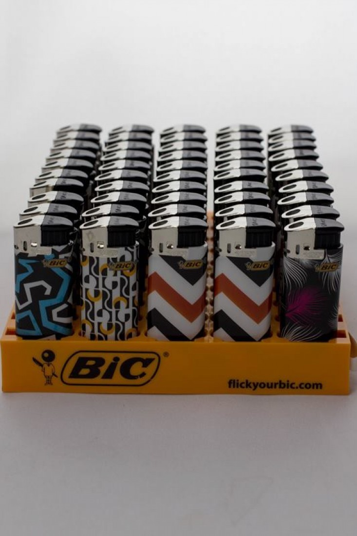 BIC Electronic Lighters Design B