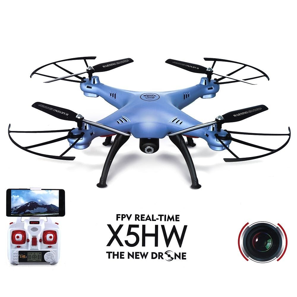 Quadcopter Drone with WiFi Camera - Syma X5HW