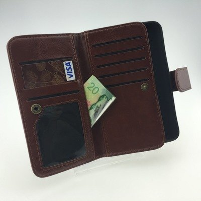 Leather Triple Wallet Case - Samsung Galaxy S6