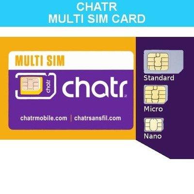 Triple Combo SIM Card - Chatr