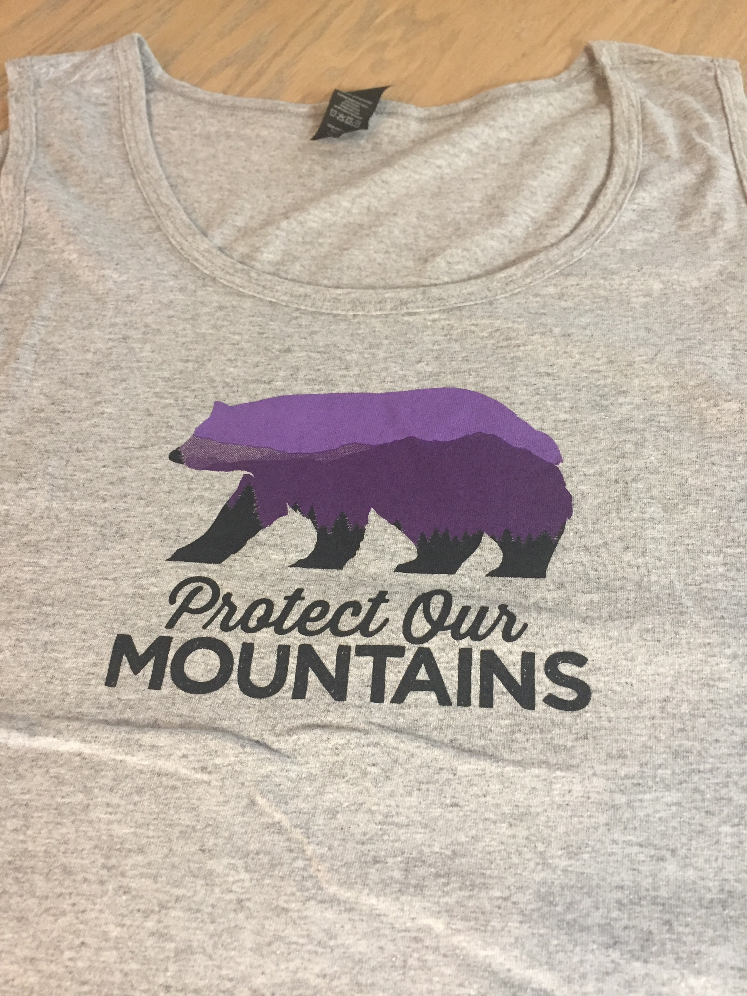 Protect Our Mountains Man's Tank 00007
