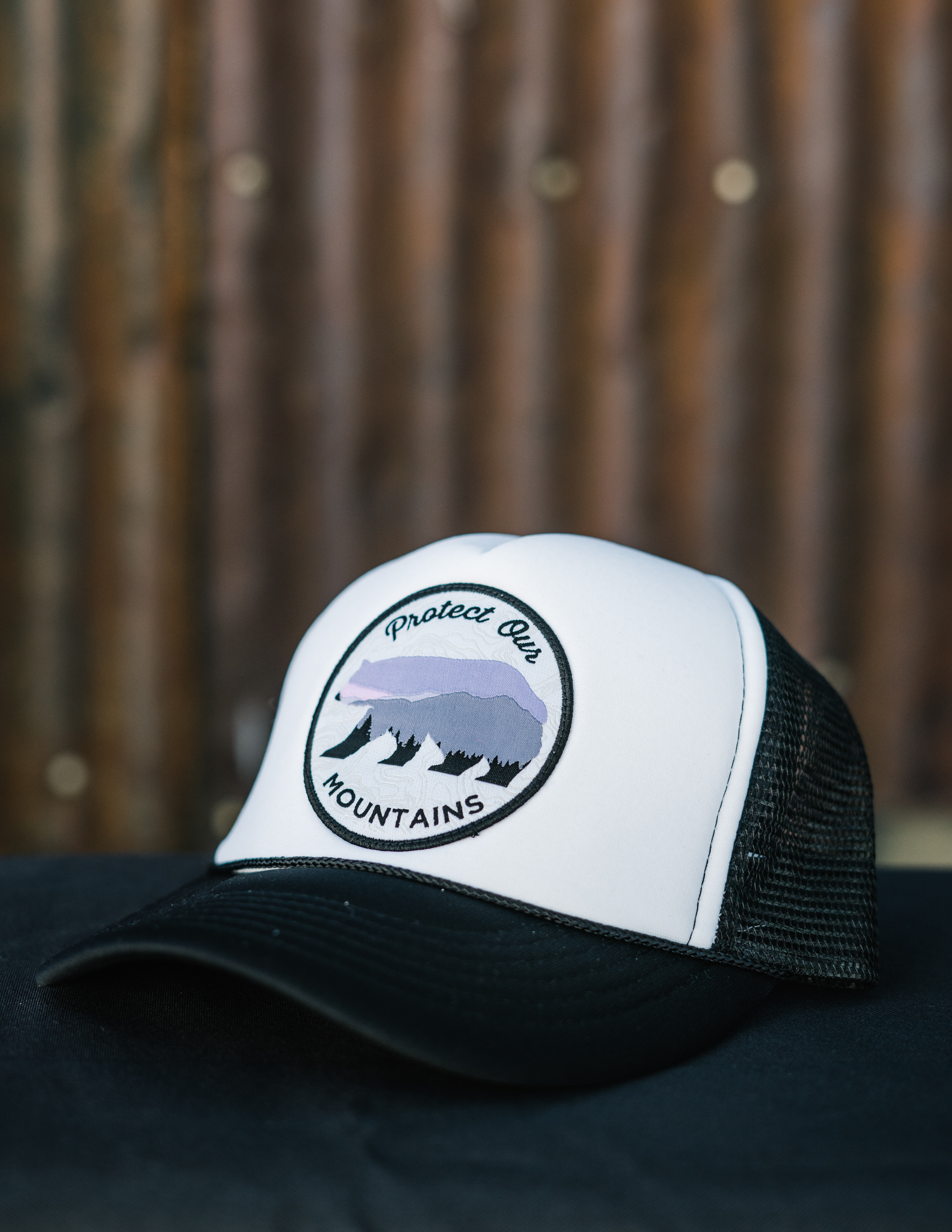 Protect Our Mountains Trucker Hat