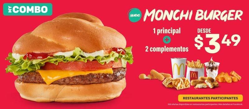 ¡Nuevo Monchi Burger!