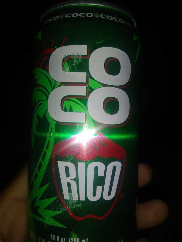COCO RICO 10 OZ FRIA $ 1.25 C/U